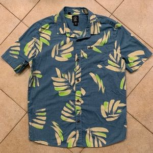 Volcom Boys Button Down Shirt